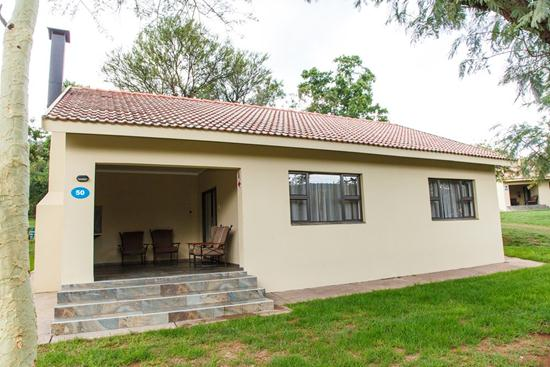 Loskopdam, A Forever Resort | Holiday resort at Loskop Dam near Middelburg, Emalahleni, Witbank, Groblersdal | self-catering, leisure, camping, corporate, conference, weddings, accommodation | Mpumalanga | South Africa: 4-Sleeper Chalet. 2 bedrooms (1 double bed, 1 single bed & 1 bunk bed)